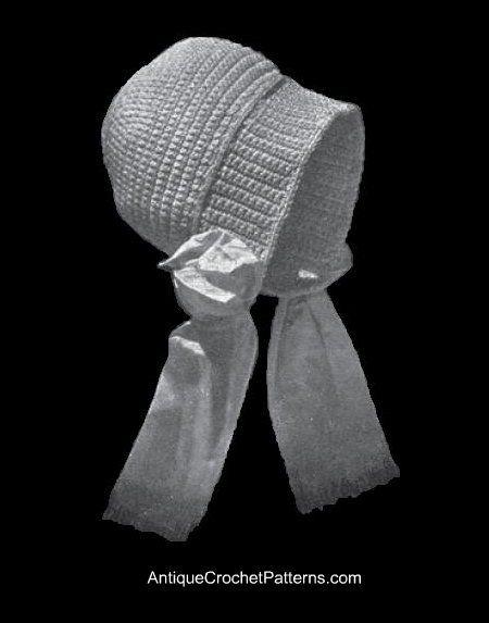 Dutch Vintage Baby Bonnet - Free Crochet Baby Bonnet Pattern ... 9e37a8b27a37