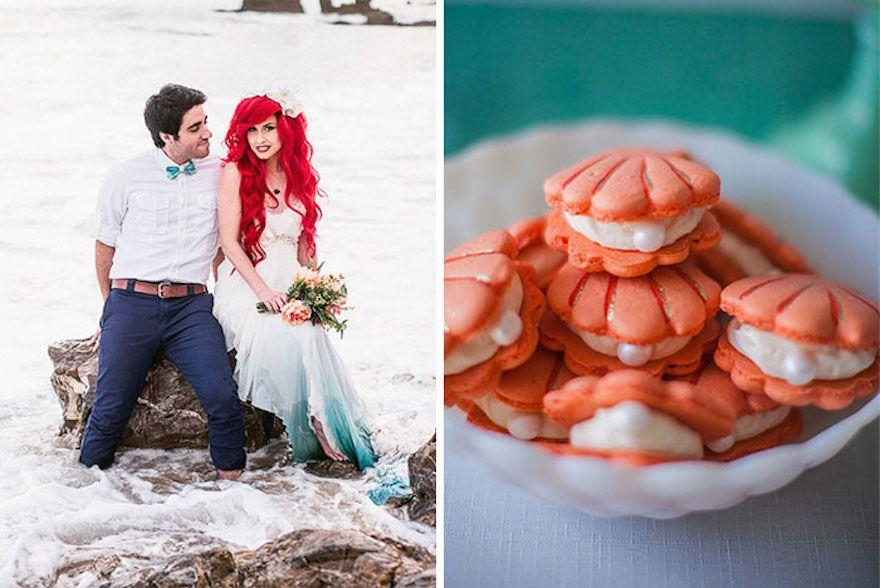 Little Mermaid Themed Wedding For Your Inner Disney Geek Love You