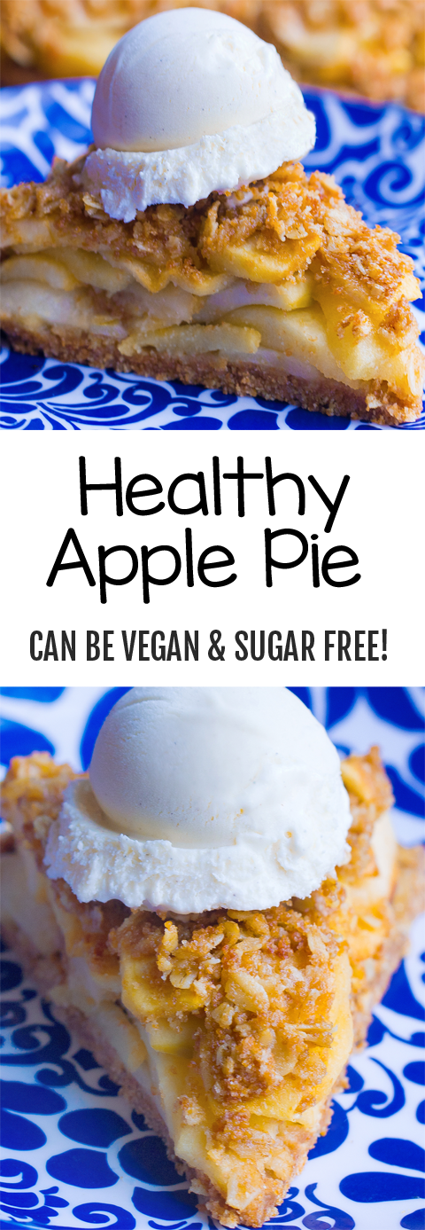 Healthy Apple Pie Recipe - Completely Vegan!