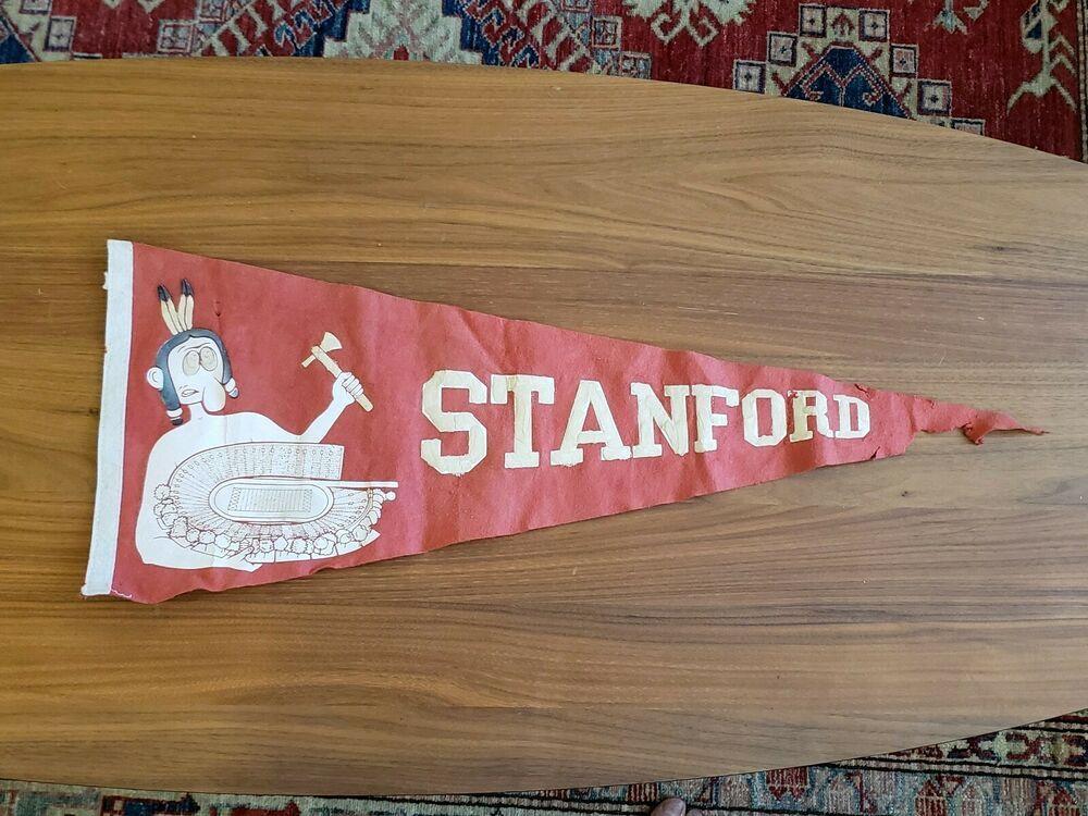 Old vintage stanford cardinals indians university