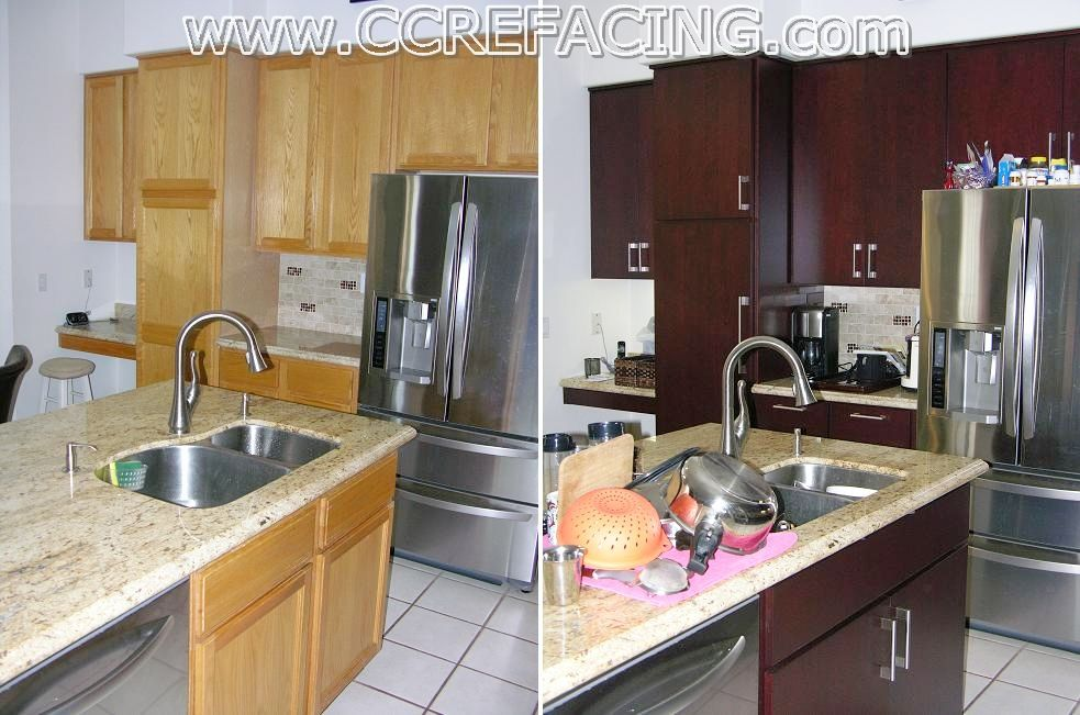 Project Location Fremont Ca Project Details Reface Cabinets With
