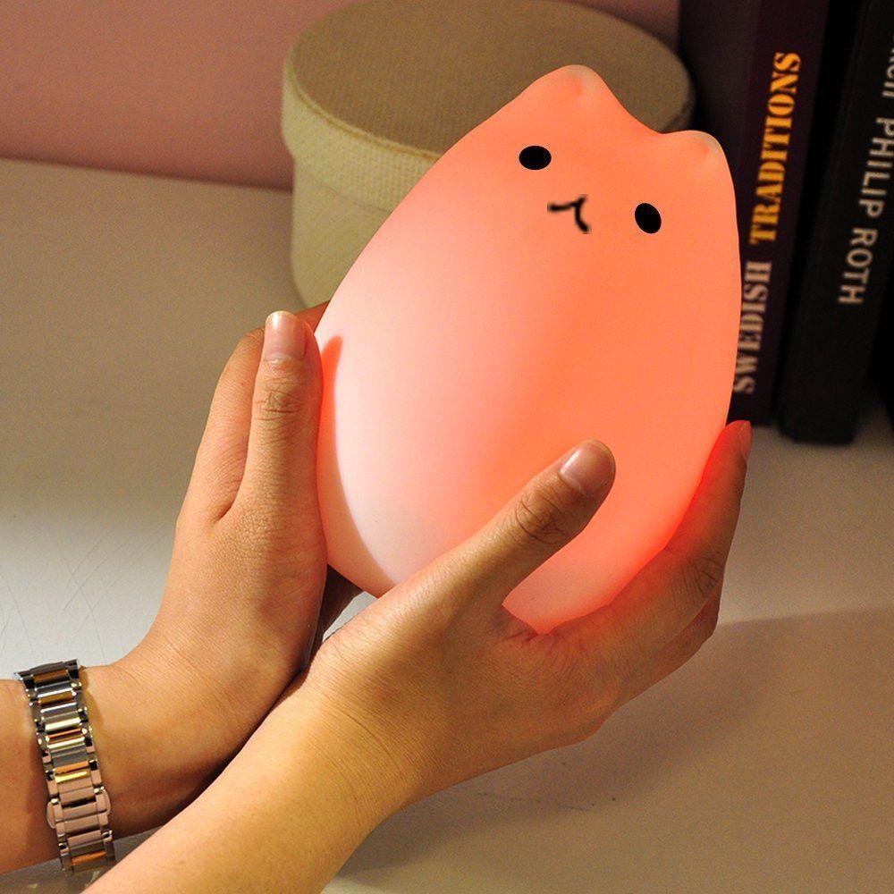 Colorful Pusheen lamp