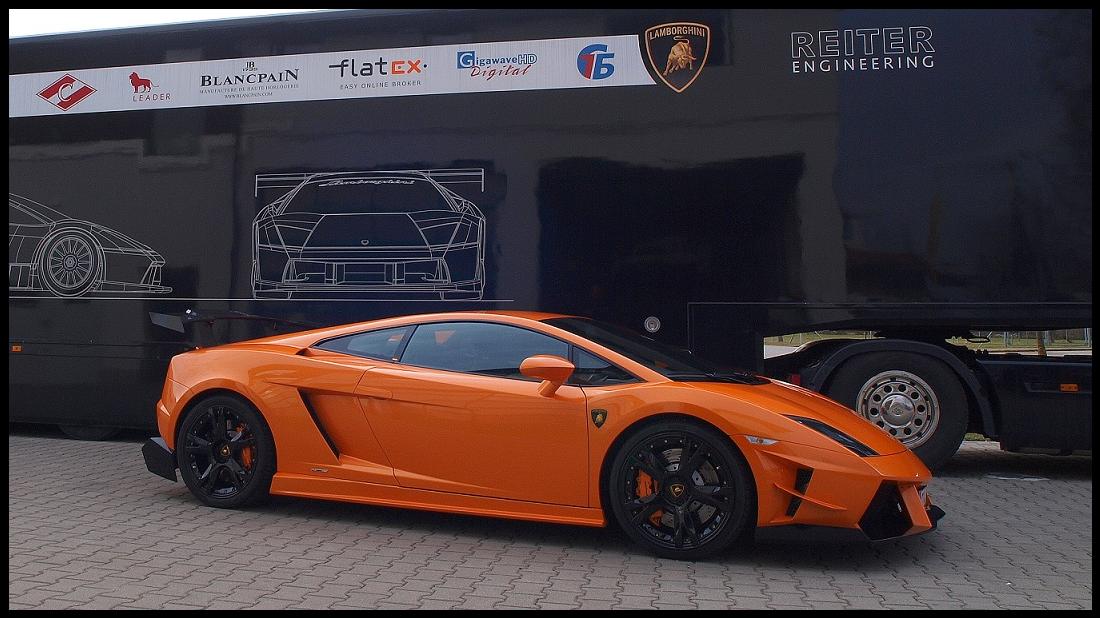 Reiter Engineering Lamborghini Gallardo Supertrofeo Strada Body Kit Lamborghini Gallardo Body Kit Lamborghini