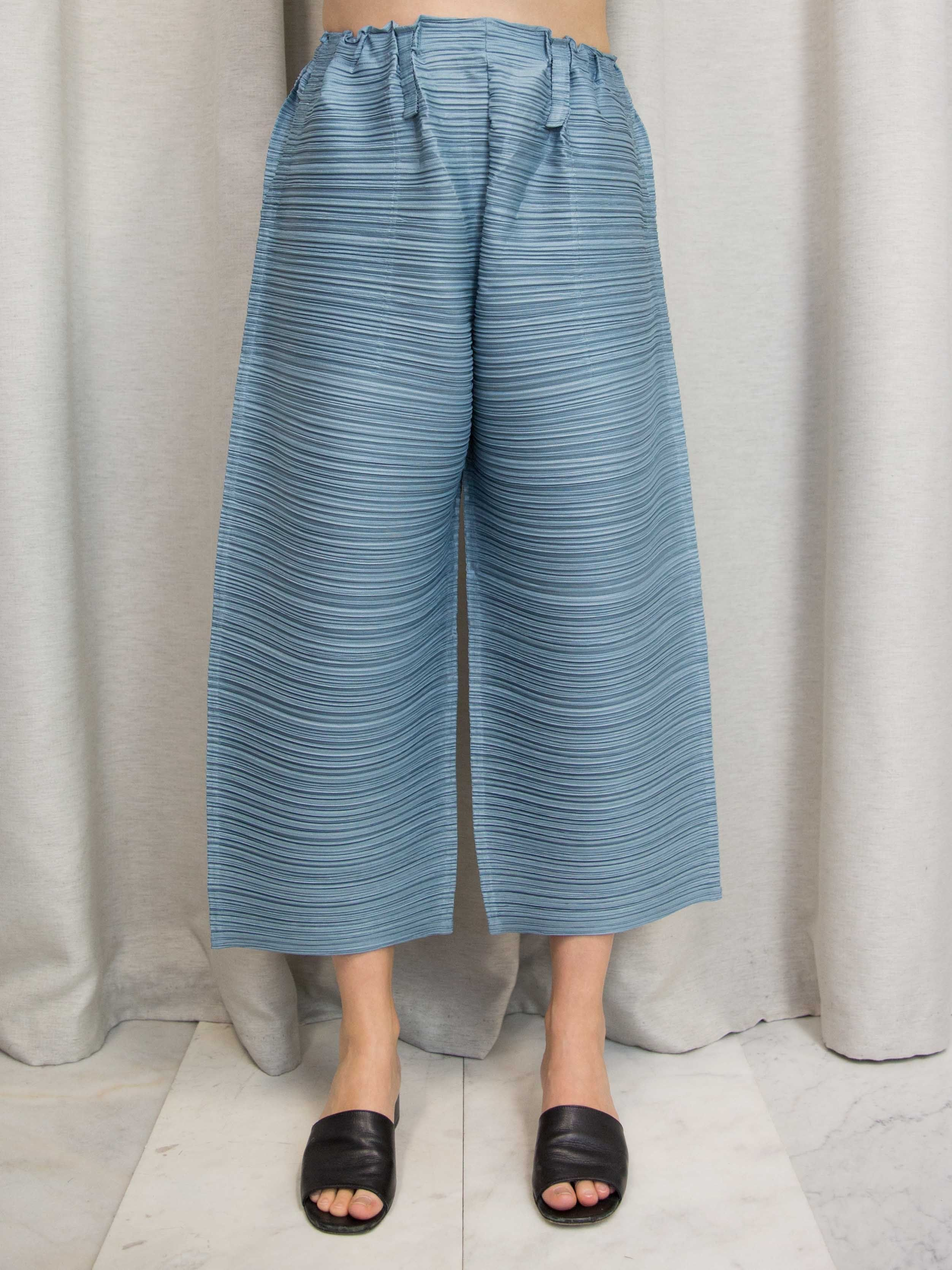 31c0b50d9b2c PLEATS PLEASE ISSEY MIYAKE Thicker Bounce Wide Pants