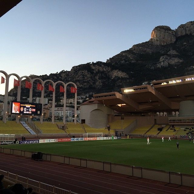 #Fontvieille #AsMonaco vs EA #Guingamp 2-0. A perfect location, great atmosphere and a good game. #Monaco by munsqu from #Montecarlo #Monaco