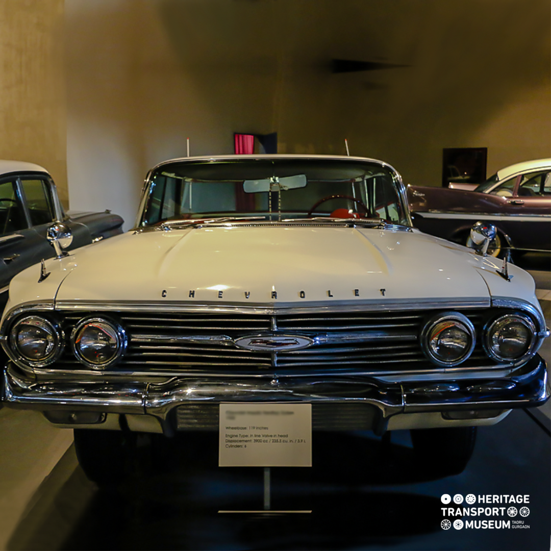 A 1960 Chevrolet Impala Hardtop Sedan This Car Was Amongst The Ones That Began The Era Of Muscle Cars Musclecars Chevrolet Impala Vintagecars Transportmu