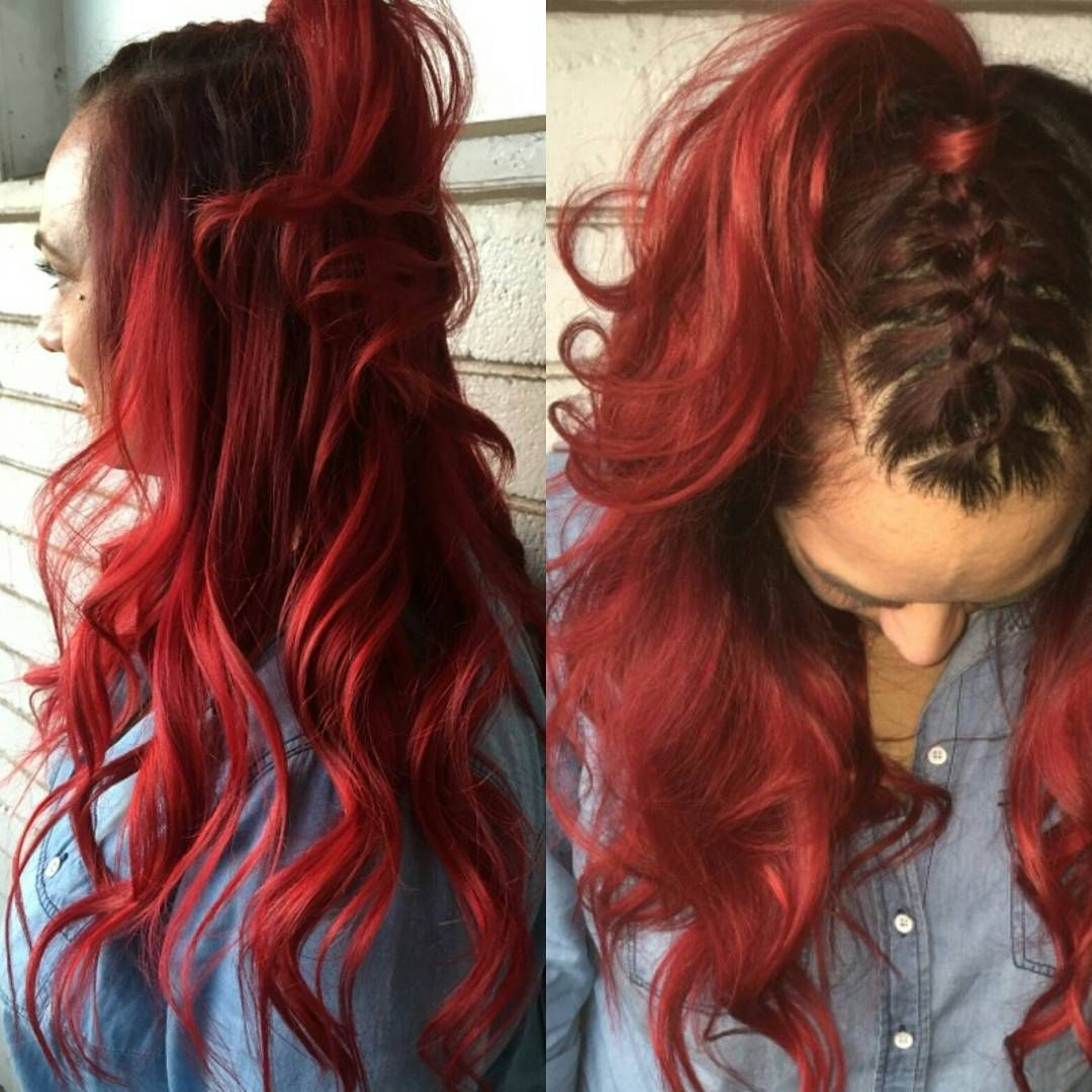 35 Brilliant Bright Red Hair Color Ideas Looks Guaranteed To Stop