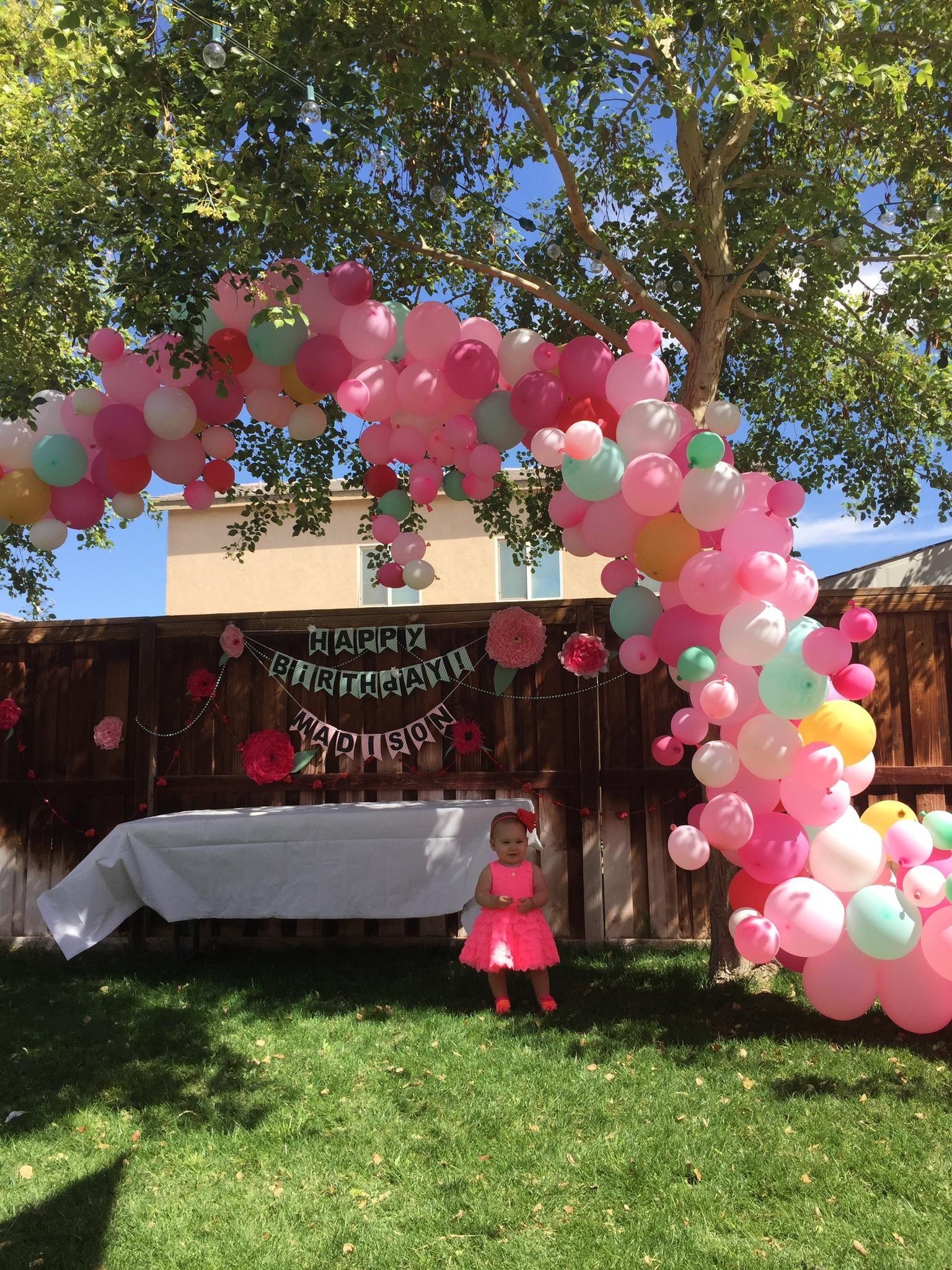 Balloon arch tutorial balloon arch balloon arch diy