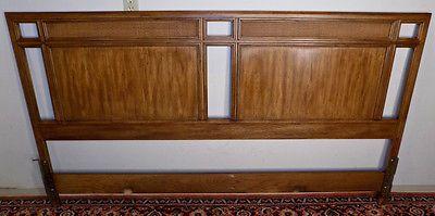 Drexel Heritage Passage King Size Headboard Bed Campaign Style Henredon Era King Size Headboard Henredon Drexel Heritage