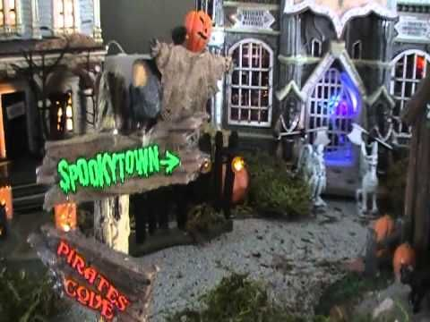 My Lemax Spooky Town Halloween Collection 2011