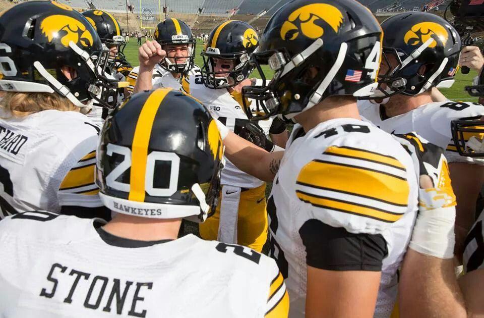 Iowa hawkeyes football pregame vs purdue 92714