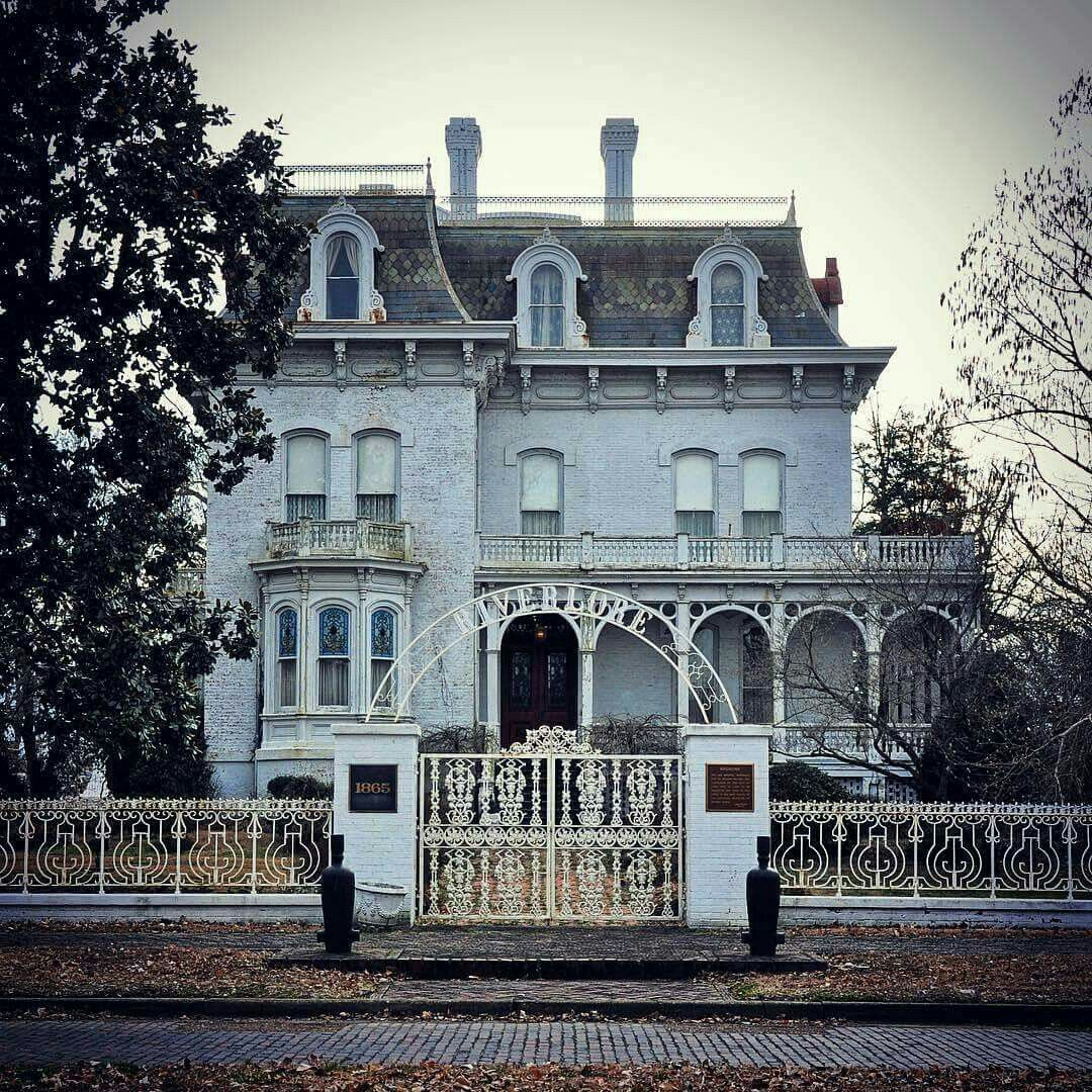 the iron gated riverlore mansion in cairo il this second empire