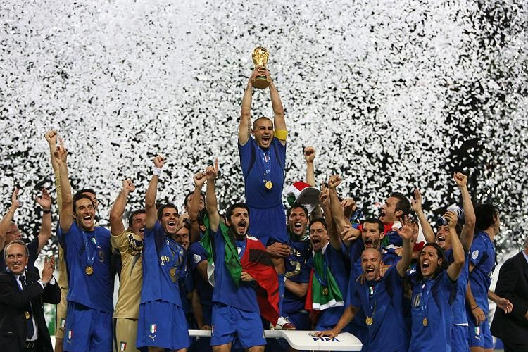 Italy Winning World Cup 2006 World Cup Fifa World Cup Fourth World