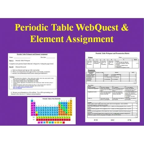 The Trusted Resource For Every Childu0027s Education Periodic table - new periodic table assignment