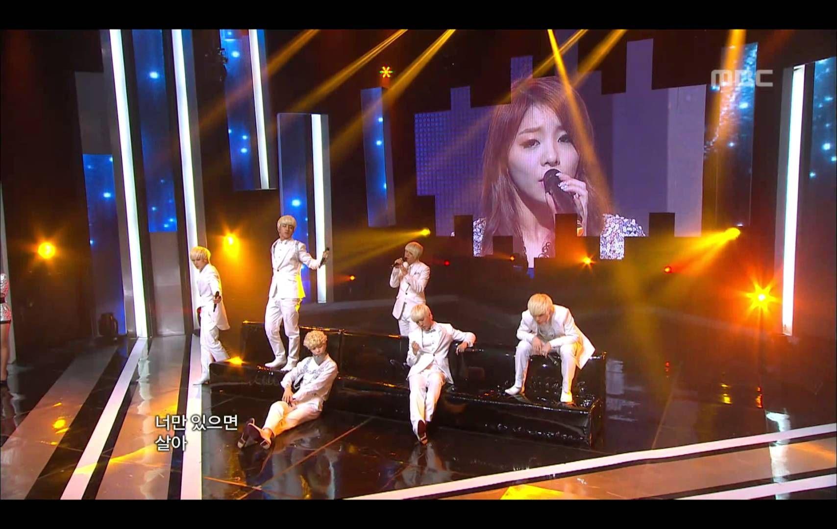 B.A.P - Secret love(feat.Ailee), 비에이피 - 비밀연애(feat.에일리), Music Core 20120310