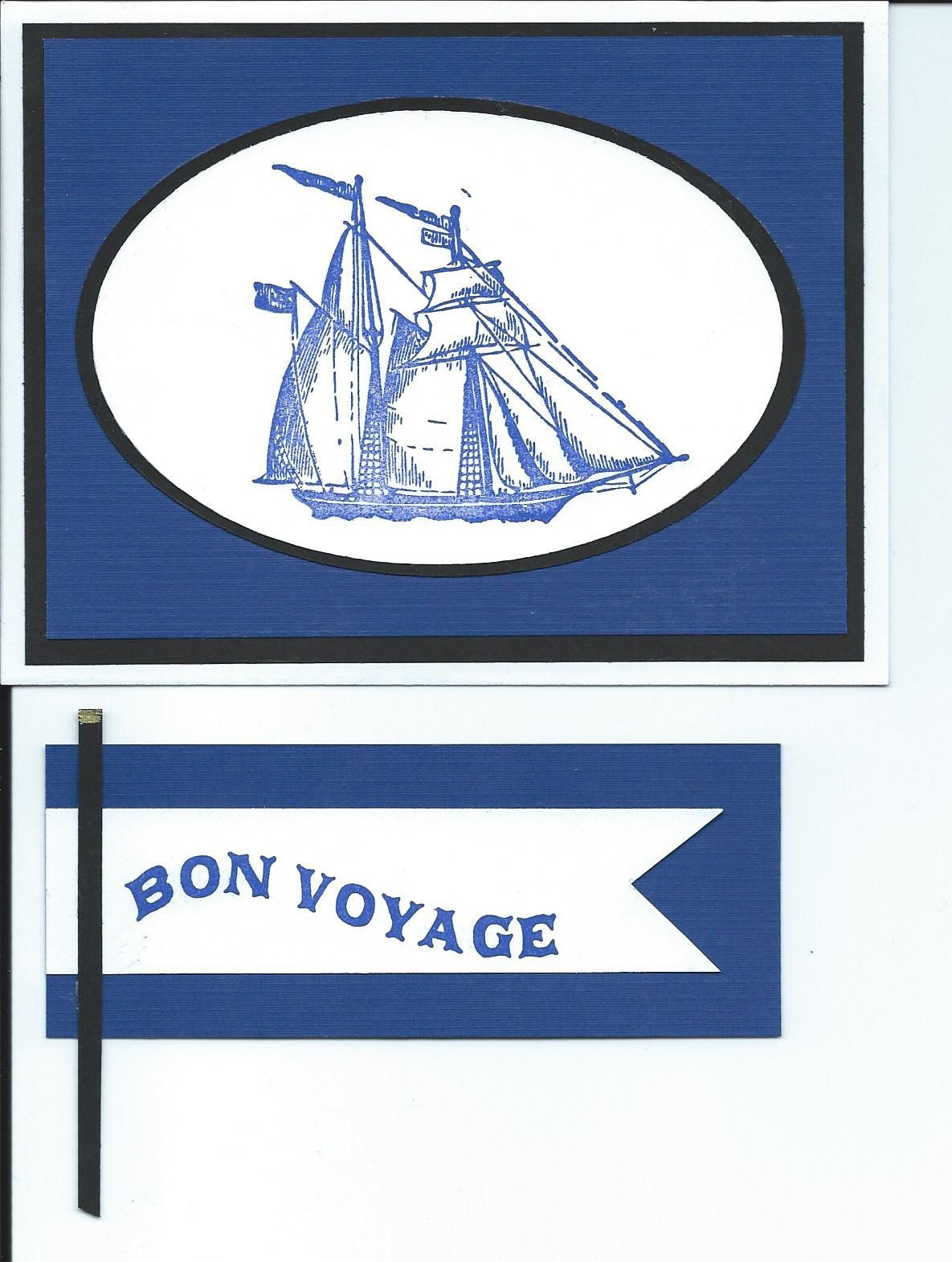 Craft Ship Bon Voyage Nautical Stamp Set By Recollections From Michaels Banner To Go Inside