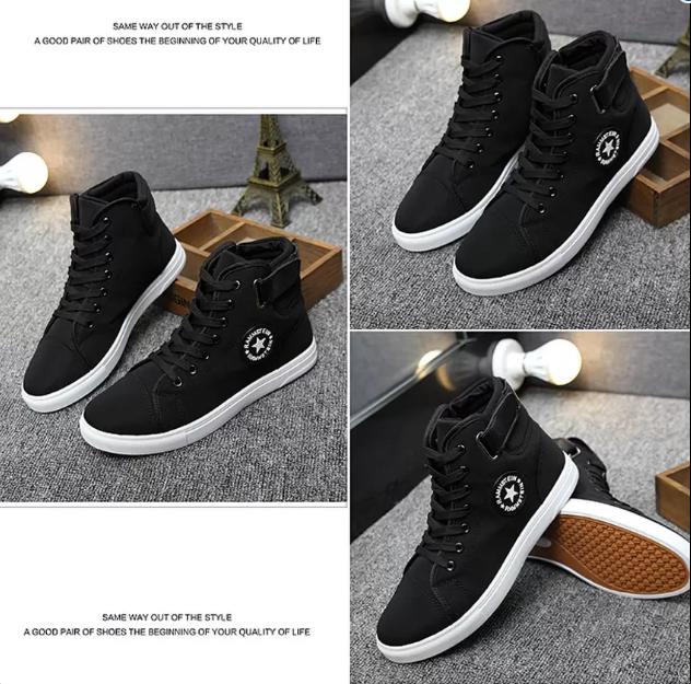 Giày Sneaker Thời Trang Nam Zapas – GS20 (Màu Đen) - Giá: 332.000.  SneakerMen's FashionSlippersSneakersPlimsoll ...