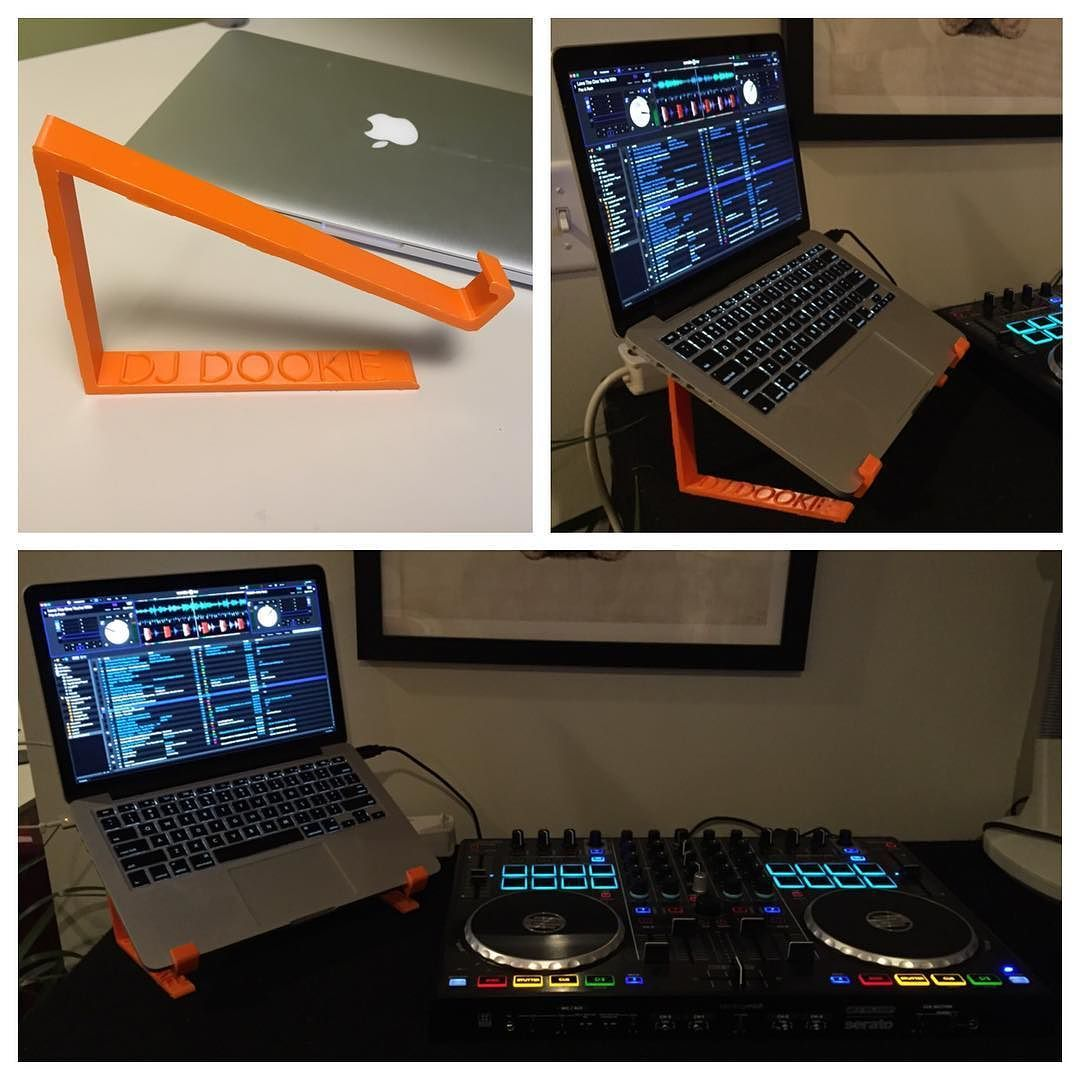 3D printing project 4 dr0cc 's personalized DJ laptop