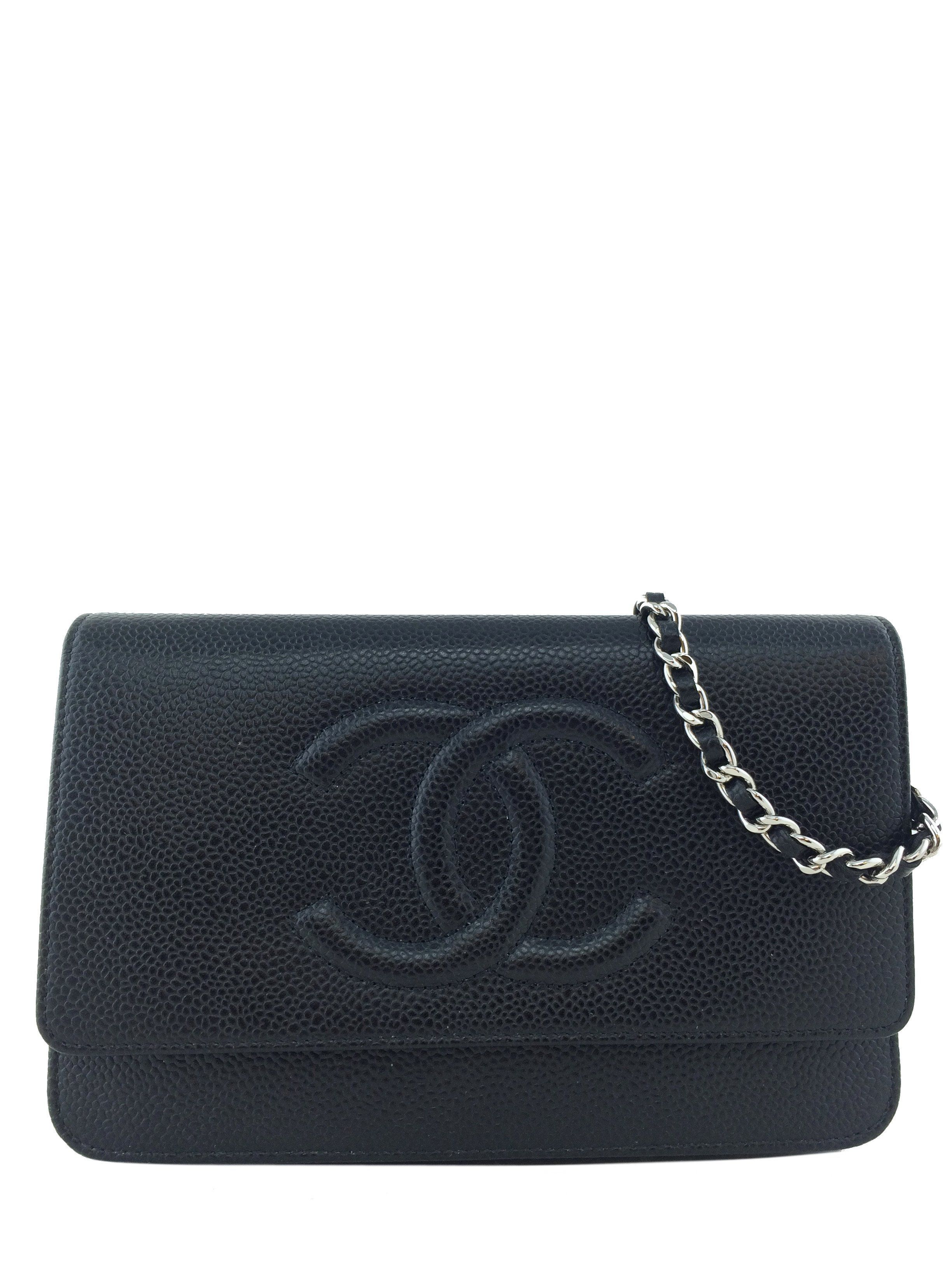 9e16d4f25 Chanel Caviar Wallet on Chain WOC Timeless Crossbody Bag | Products