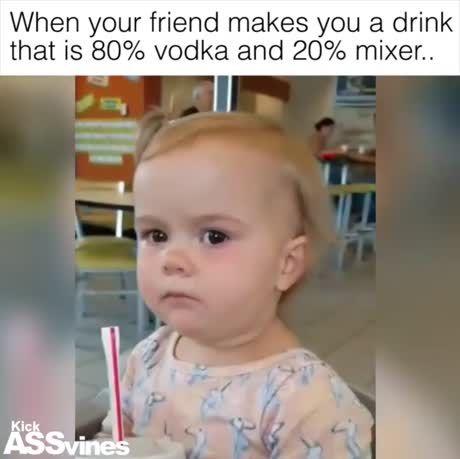 Here, hold my juice...
