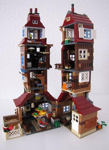 Weasley Burrow Harry Potter Lego Sets Lego Harry Potter Harry Potter Toys