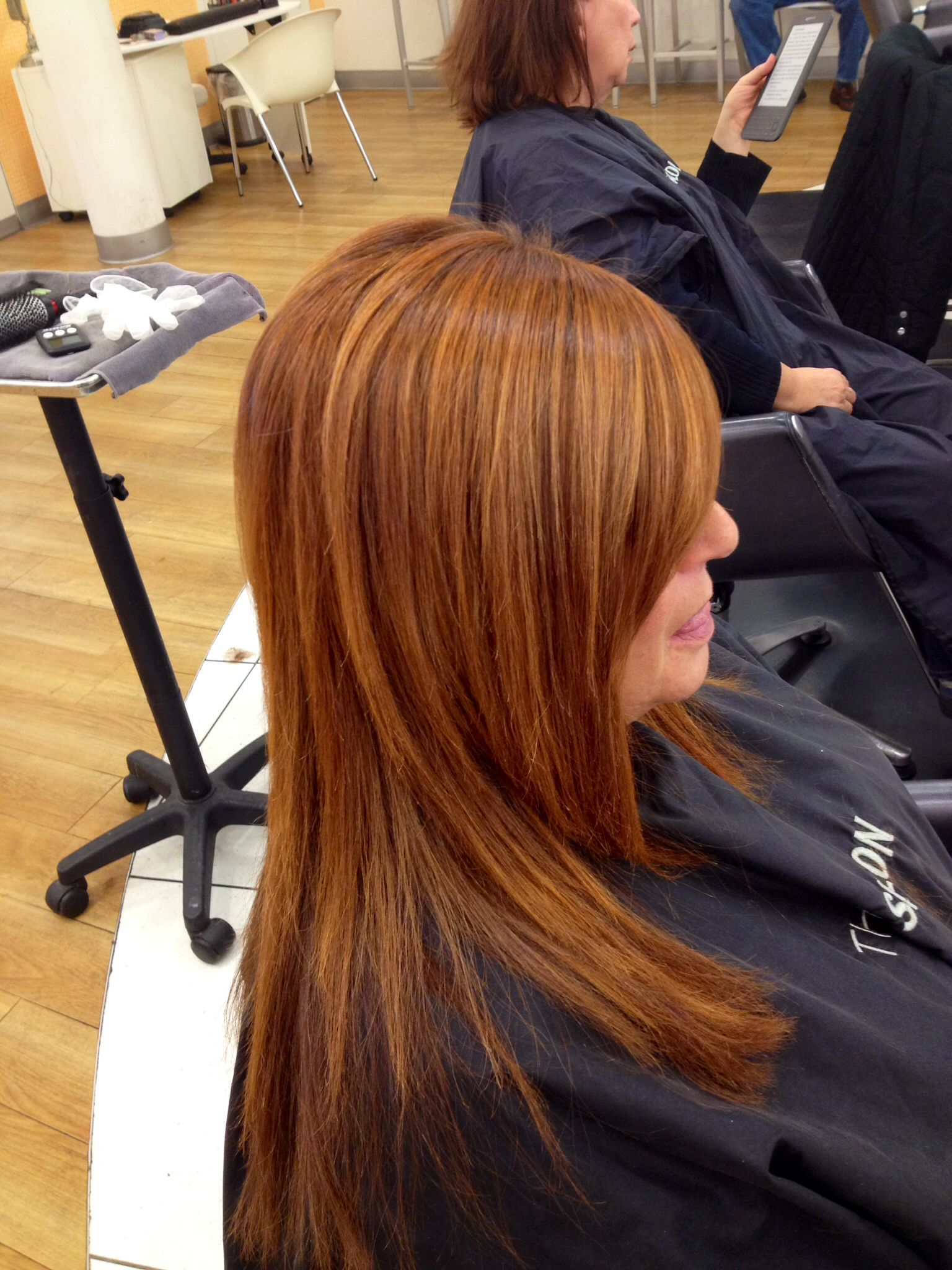 Redken color hair by marisa 9gc with 8c come see me at for Salon redken