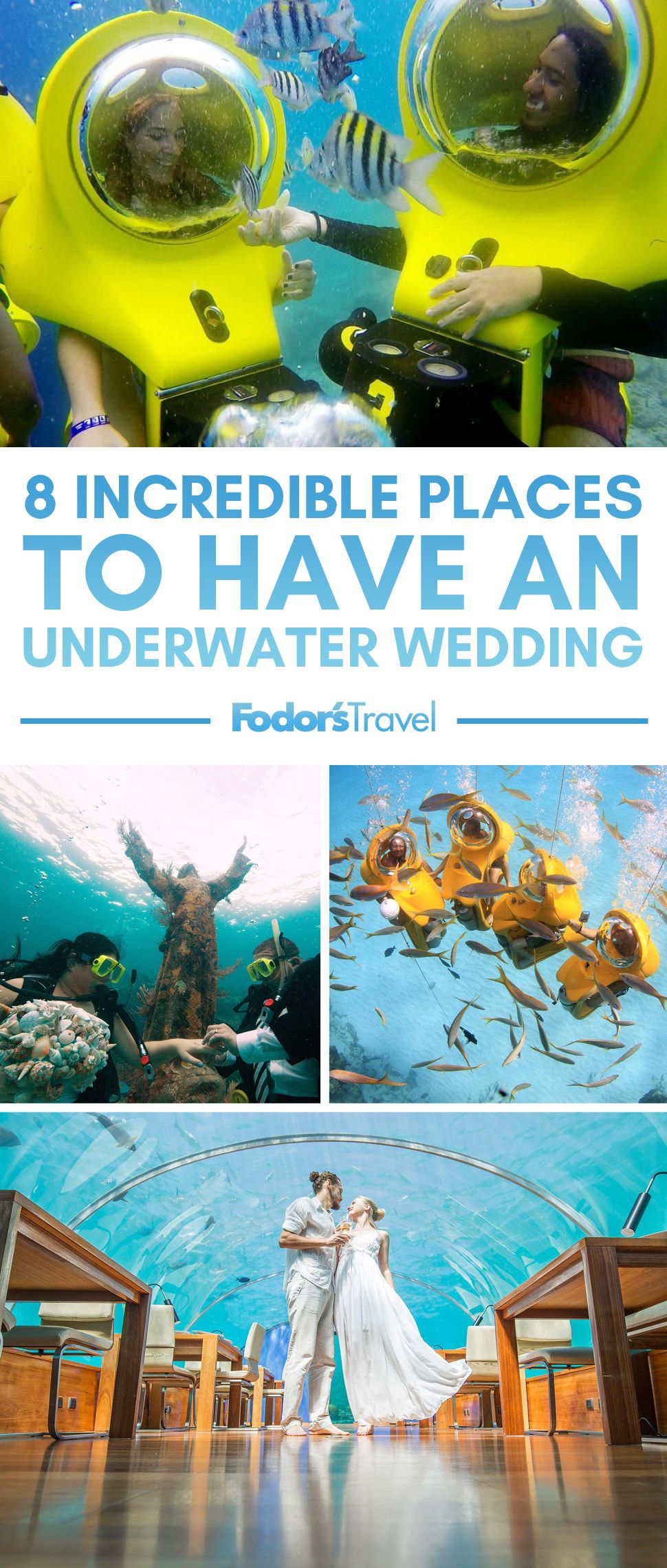 8 Incredible Places to Have an Underwater Wedding