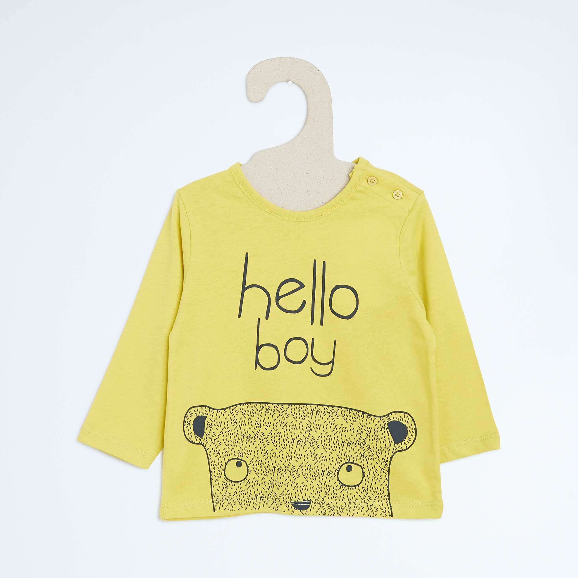 Tee-shirt coton imprimé Bébé garçon - Kiabi - 2 6e23c3a74f3