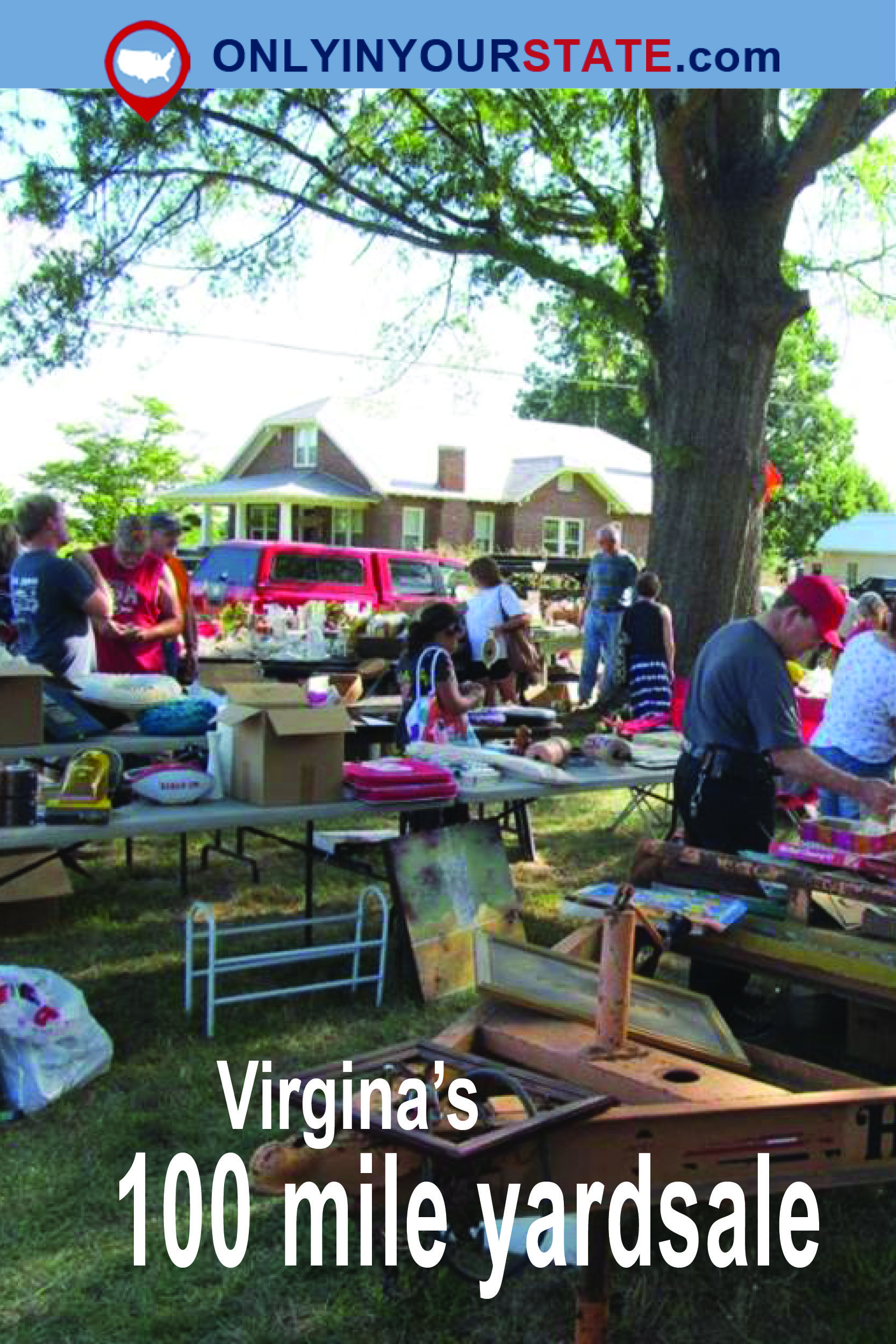 You'll Absolutely Love This 100 Mile Yard Sale Going Right Through