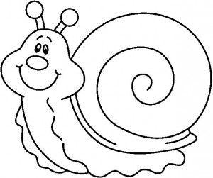 Caracol Animalitos Para Colorear Caracoles Dibujo Dibujos De