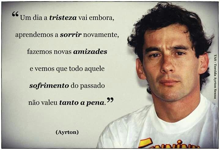 Pin De Harry Thomas Craig Em Senna Ayrton Senna Frases