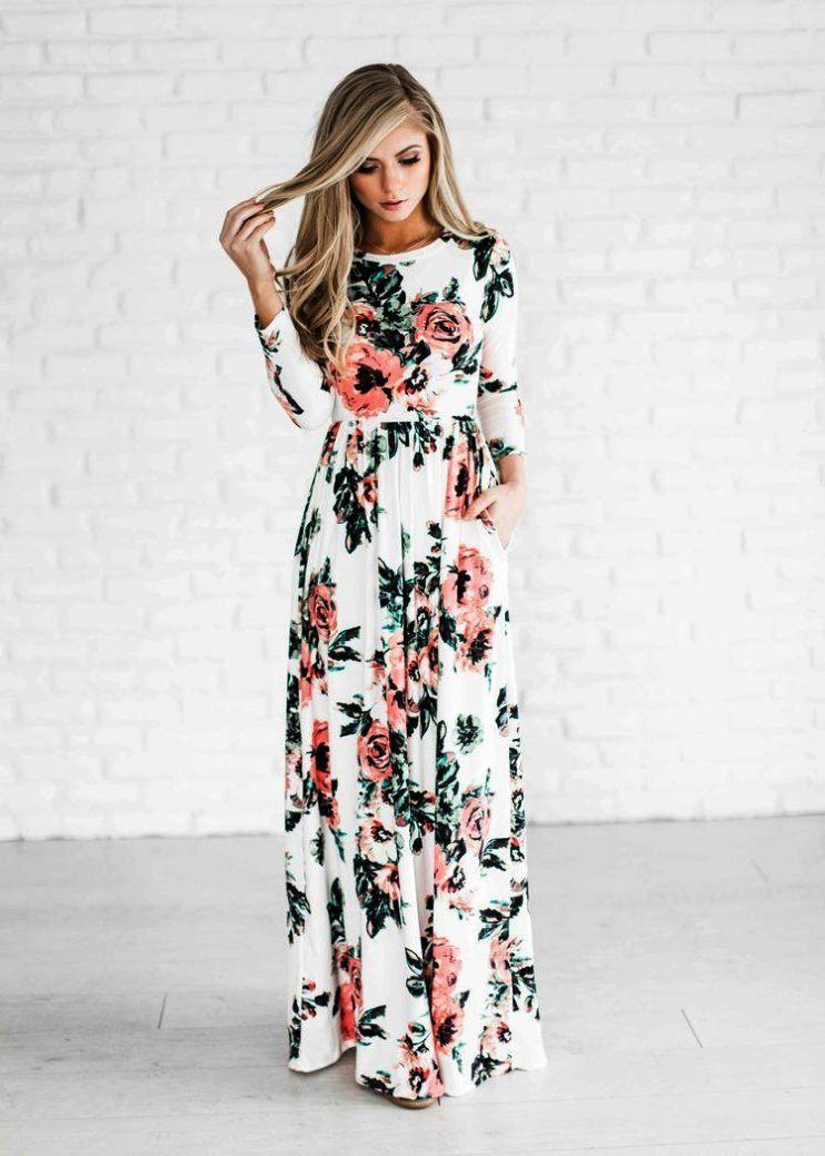 Get This Casual Maxi Dresses Target Cool Floral Print Maxi Dress Fashion Rose Maxi Dress