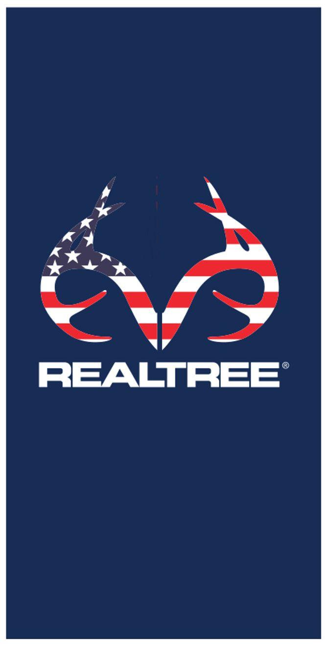 Realtree Americana Beach Towel Available On Birchwoodtrading