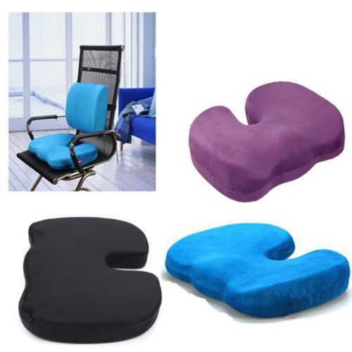 Orthopedic Memory Foam Cushion Bolster Relief Chair Solution