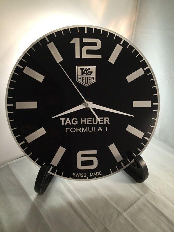 Tag Heuer Formula 1 Dial Face Wall Clock Wall Clock Etsy In 2020 Wall Clock Clock Tag Heuer Formula