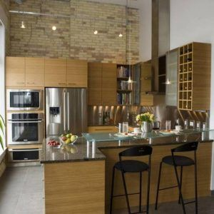 Best Lighting For High Ceiling Kitchen  Httpjellyfruit Enchanting Kitchen Designs With High Ceilings Decorating Design