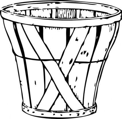 Bushel Basket Clip Art Jpg Apple Coloring Pages Clip Art