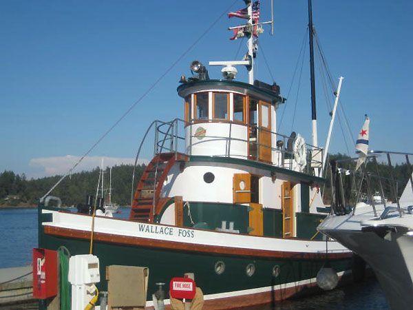 1897 Tacoma Tugboat Classic Tug, Newport Rhode Island