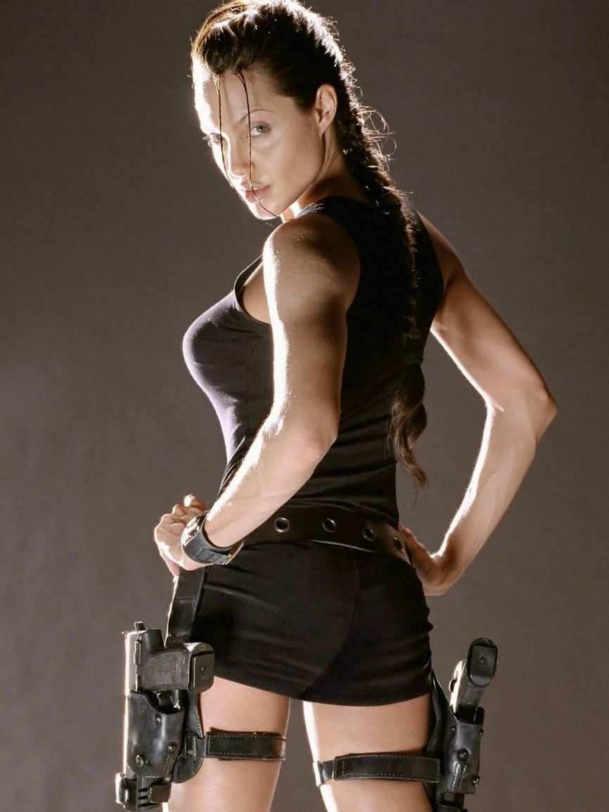 Angelina Jolie Ass Sexy Tomb Rider Full Hd -2793