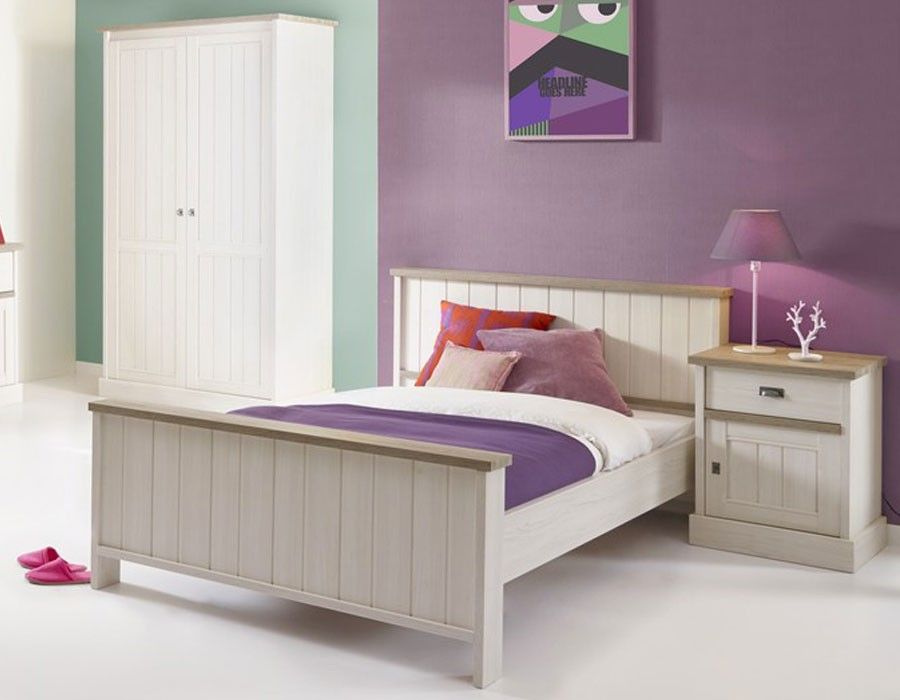 Chambre enfant contemporaine couleur ch ne blanc jeanne for Chambre contemporaine design