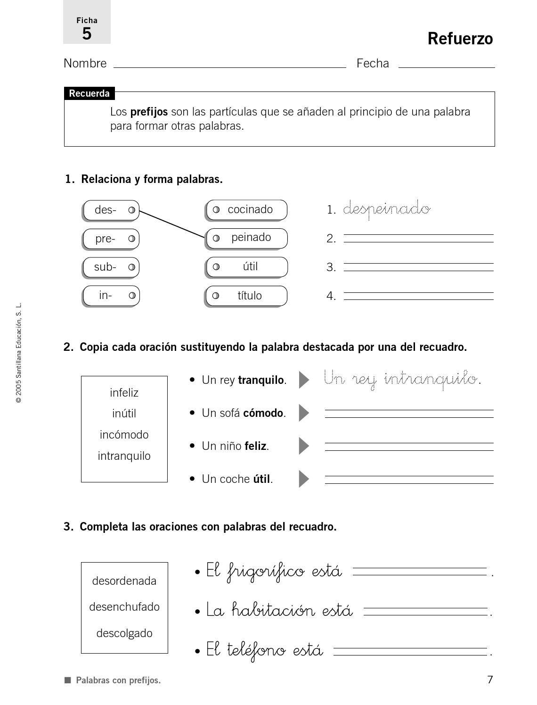 Refuerzo Y Ampliacion Lengua 4 Primaria