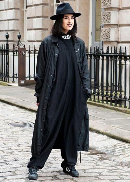 The absolute best street style at London Fashion Week Fall 2015 - Elle Canada