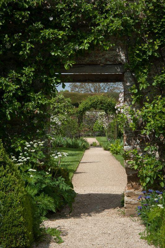 Walled Garden Rousham Garden Wall Garden Design My Secret Garden