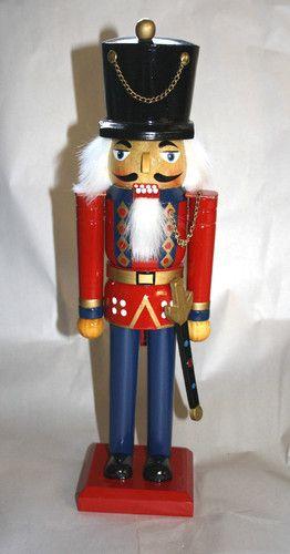 "Vintage Christmas Nutcracker 14"" Soldier - $9.99"