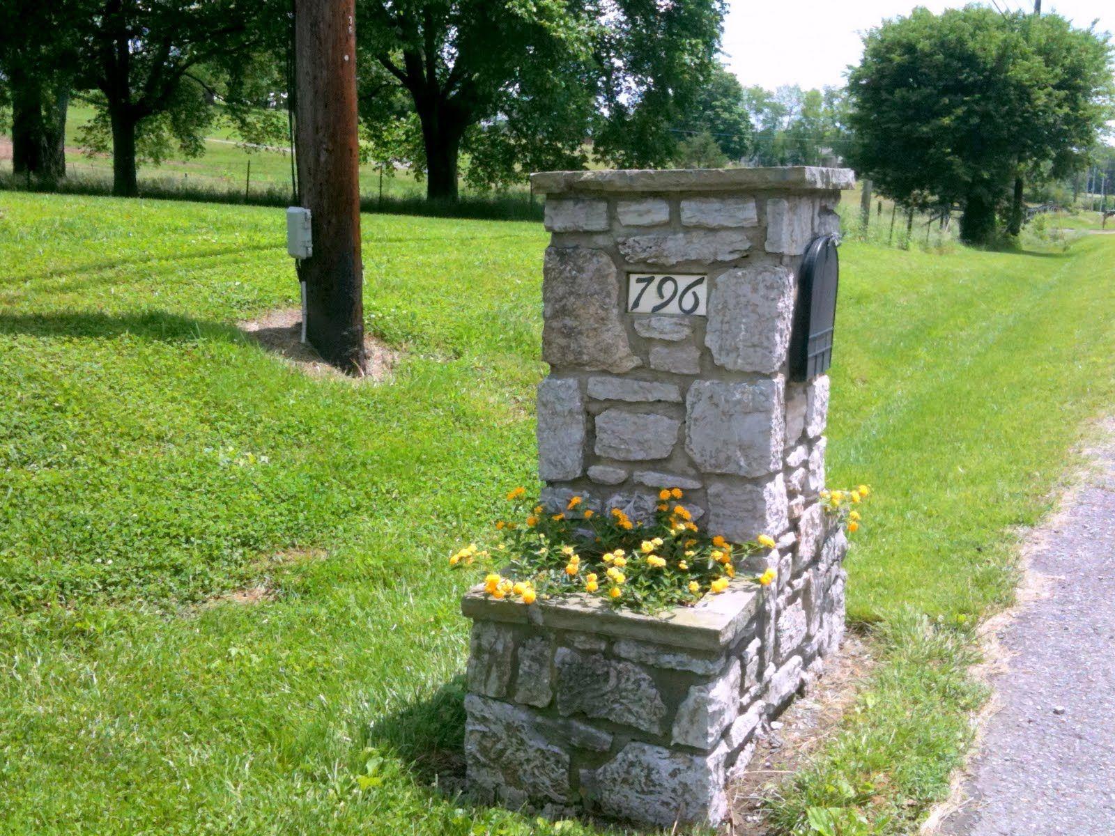 Stone Mailbox Ideas Stone Mailbox Designs Mailbox 400 x 300