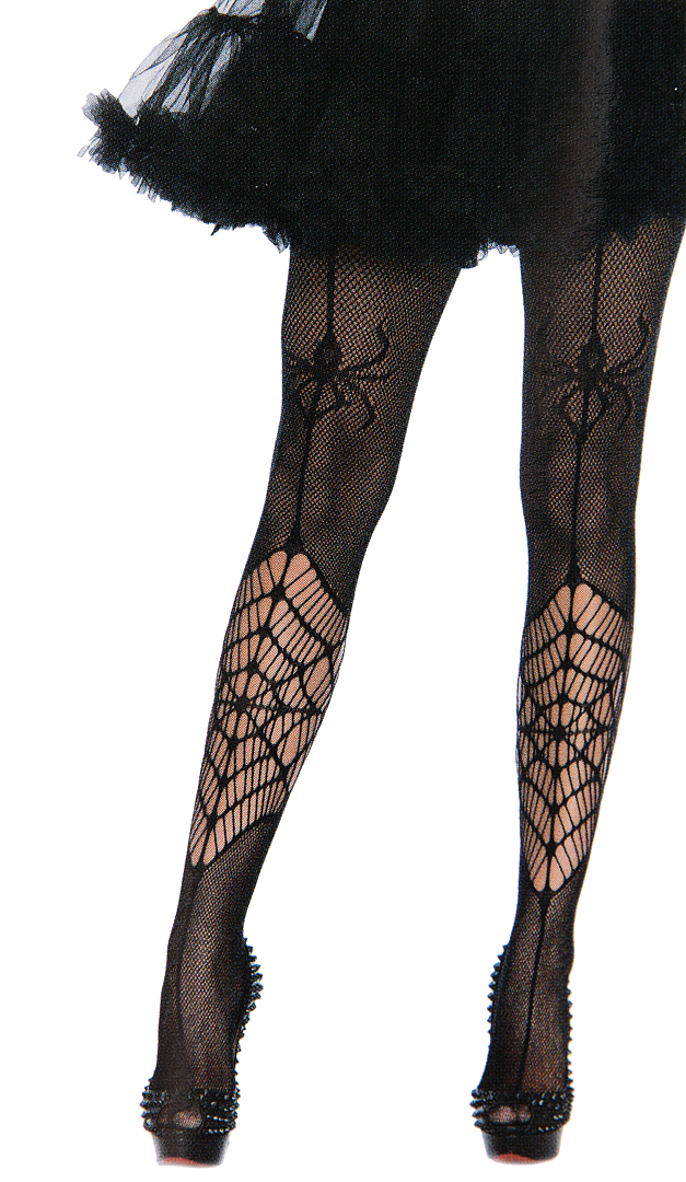 Women Halloween Witch Spider Web Tights Pantyhose Stockings Fancy Dress Healthy