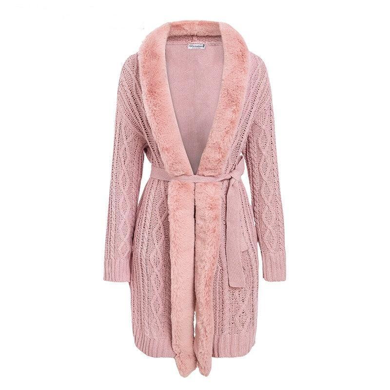 15377474a05 Natalie Cardigan Fur Coat