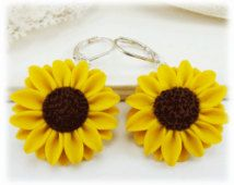 Extra large yellow sunflower earrings big sunflower earrings extra large yellow sunflower earrings big sunflower earrings large yellow flower earrings mightylinksfo