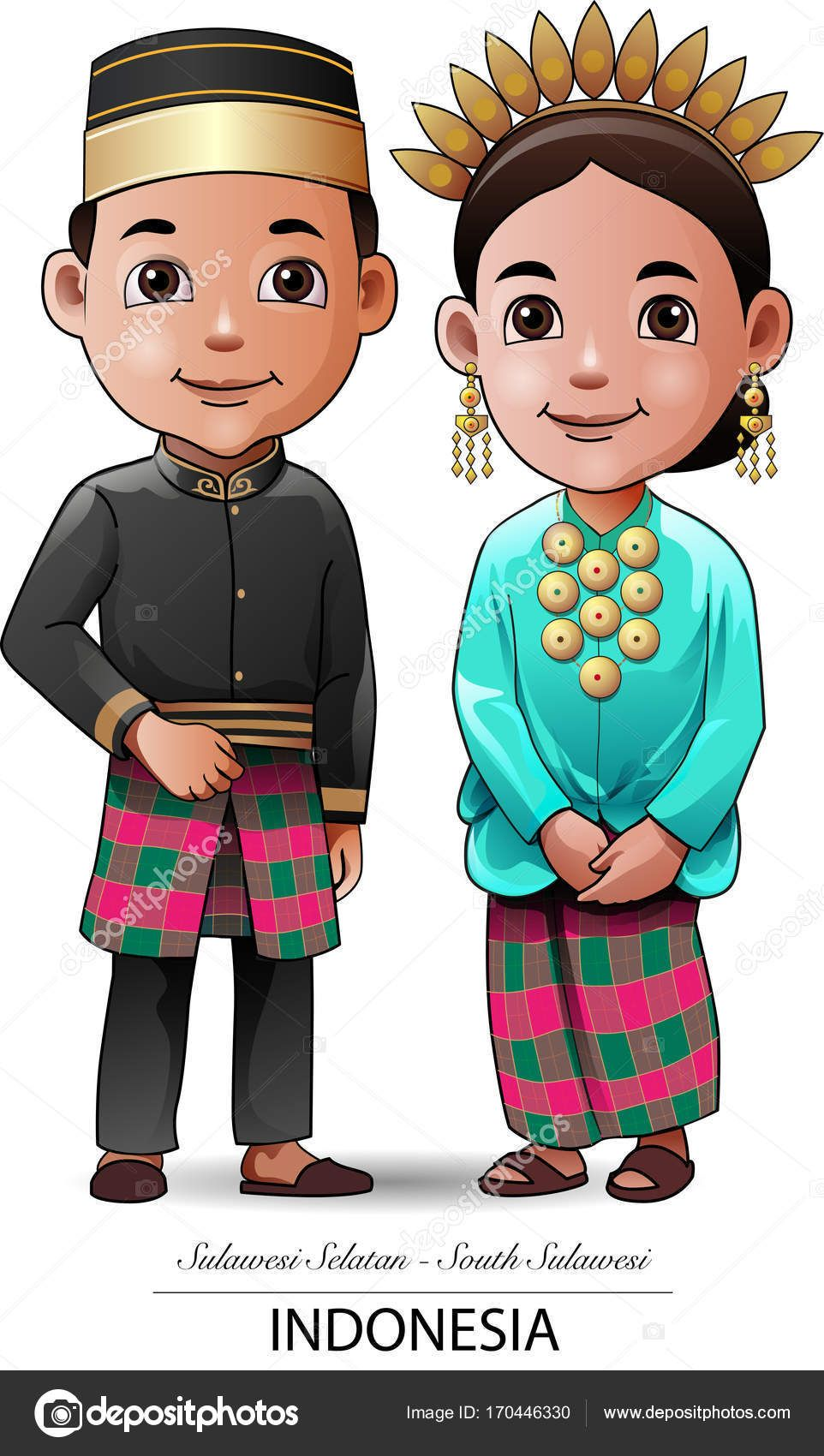 Gambar Baju Adat Sulawesi Selatan