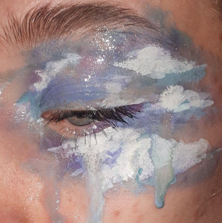 blue sky-make-up machen mich gehen Folge meinem instagram schöne : @jasimne_astuces_b… – Makeup Blog